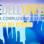 La #NOTTEDELLONESTA' 24 Gennaio 2015 Roma #M5S