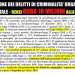 Renzi ruba 10 Milioni alla Campania