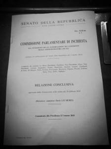 Relazione finale commissione intimidazioni 03Marzo2015