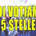 """""""Noi votiamo 5 stelle"""" cori alla manifestazione Whirlpool-Indesit a Caserta – 22 Maggio 2015"""