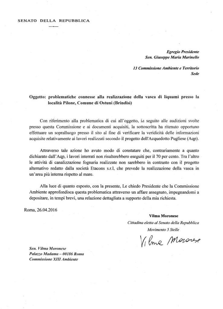 Richiesta-affare-assegnato-vasca-Pilone-Ostuni-26-Aprile-2016_vilmamoronese_it