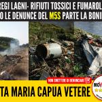 Regi lagni e rifiuti tossici, dopo le denunce del M5S parte la bonifica a Santa Maria Capua Vetere