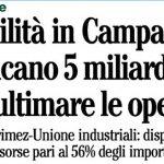 Il bluff del patto per la Campania di Renzi. Sulla carta quei soldi mancano, interrogazione M5S