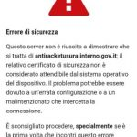 M5S, Interrogazione su problemi tecnici sito web Antiracket del Ministero