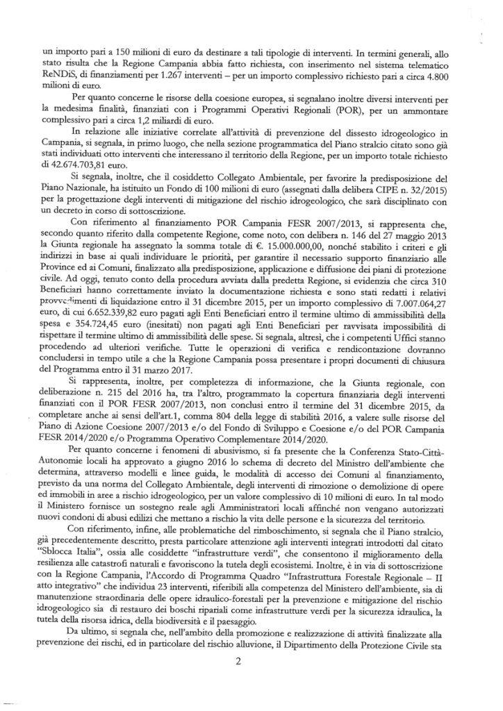 07.06.2016__risposta-Ministero-interrogazione-dissesto-idrogeologico-campania-M5S-2-di-3