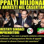 Rifuti, appalti d'oro e tangenti nel Casertano, arrestati sindaci PD e FI e diversi imprenditori