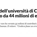 Università di Cassino: M5S, dopo buco INPS anche consulenze anomale, interrogazione in Senato