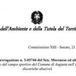 Ministero Ambiente incapace e ottuso scarica su Augusta errore Regione Siciliana, ma non finisce qui!