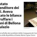 Rifiuti, la Gesia truffava i comuni di Bellona e Vitulazio…intanto a Sparanise