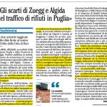 Interrati in Puglia gli scarti dalla Campania di Zuegg e Algida, ecco come facevano i criminali