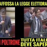 Il PD affossa la legge elettorale per 11 poltrone TUTTA ITALIA DEVE SAPERE