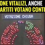 Il PD, Forza Italia e Lega Nord affossano definitivamente la legge per l'abolizione dei vitalizi