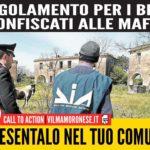 Presenta nel tuo Comune il Regolamento per i beni confiscati alle mafie – Call To Action M5S