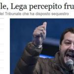 M5S: Salvini vuole galera per chi evade e si allea con evasore