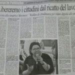 """Elezioni: Moronese(M5S) """"Libereremo i cittadini dal ricatto del lavoro"""" - intervista"""
