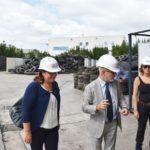 Pneumatici e riciclo, il punto sulla normativa e visita all'impianto di Teverola (Video)