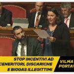 Moronese(M5S) Stop incentivi ad inceneritori, discariche e biogas illegittimi. Abbiamo salvato l'Italia dall'infrazione EU