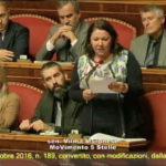 Decreto Clima, dichiarazione di voto : Moronese (M5S) diamo il via a nuovo patto generazionale per l'ambiente