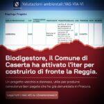 Il Comune ha deciso, il biodigestore sorgerà di fronte la Reggia di Caserta